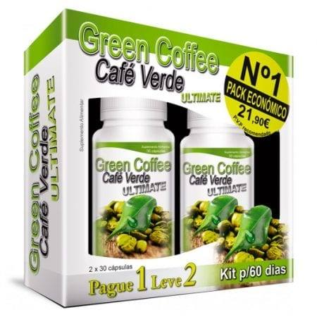 Green Coffee Ultimate Kit (Leve 2 Pague 1) 2x30 cápsulas