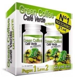 Green Coffee Ultimate Kit 2×30 cápsulas – Leve 2 Pague 1