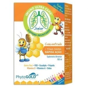 Phytogold Imuno Ultra Care® Junior + 3 anos150ml