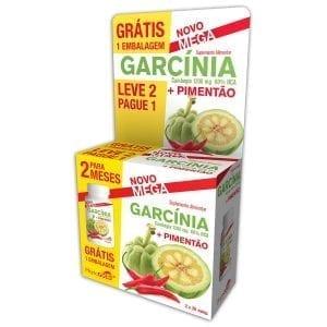 Phytogold Pack Garcínia 1200mg + Pimentão 60 comprimidos – Leve 2 Pague 1