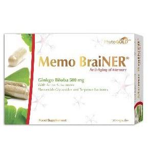 Phytogold Memo Brainer® Ginkgo Biloba 500mg 30 cápsulas