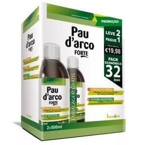 Pau d'Arco Forte 2x500ml – Leve 2 Pague 1