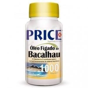 Price Óleo de Fígado de Bacalhau 1000mg 90 cápsulas