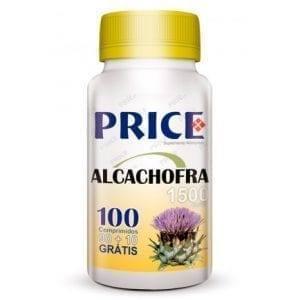 Price Alcachofra 1500mg 90 comprimidos + 10 grátis