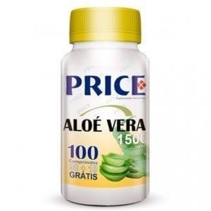 Price Aloé Vera 1500mg 90 comprimidos + 10 grátis