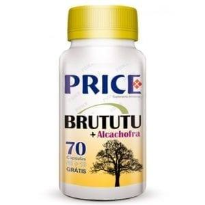 Price Brututu + Alcachofra 60 cápsulas + 10 grátis