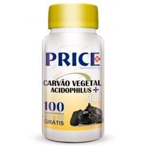 Price Carvão Vegetal + Acidophilus 90 comprimidos + 10 grátis