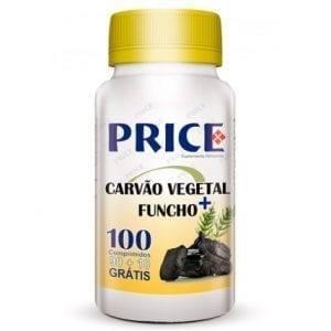 Price Carvão Vegetal + Funcho 90 comprimidos + 10 grátis