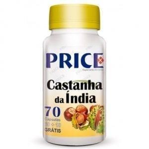 Price Castanha da Índia 60 cápsulas + 10 grátis