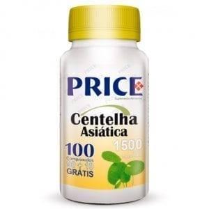 Price Centelha Asiática 1500mg 90 comprimidos + 10 grátis