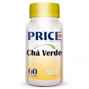 Price Chá Verde 600mg 60 cápsulas