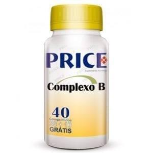 Price Complexo B 30 comprimidos + 10 grátis