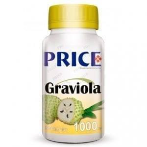 Price Graviola 1000mg 60 cápsulas
