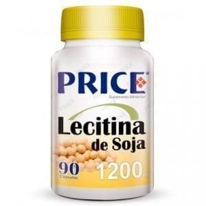 Price Lecitina de Soja 1200mg 90 cápsulas