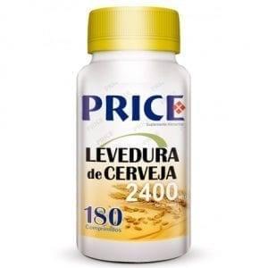 Price Levedura de Cerveja 2400mg 180 comprimidos