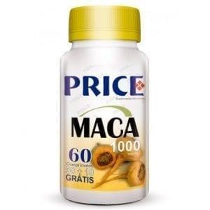 Price Maca 1000mg 50 comprimidos + 10 grátis