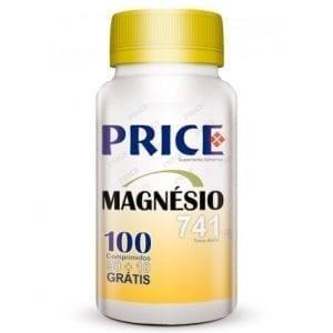 Price Magnésio 741mg 90 comprimidos + 10 grátis