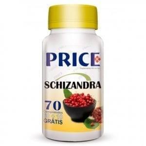 Price Schizandra 60 comprimidos + 10 grátis