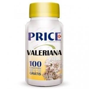 Price Valeriana 2000mg 90 comprimidos + 10 grátis