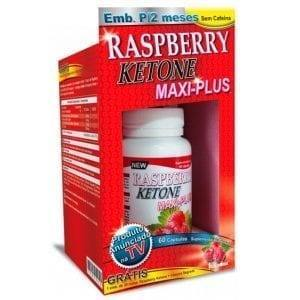 Raspberry Ketone Maxi-Plus Fharmonat 60 cápsulas + 30 comprimidos grátis