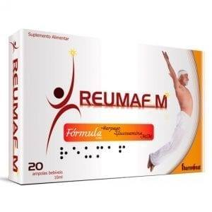 Reumafm + Glucosamina 20 ampolas