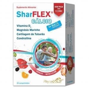 Phytogod SharFLEX® Cálcio 30 comprimidos