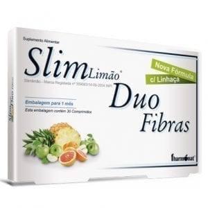 Slim Limão Duo Fibras Fharmonat 30 comprimidos