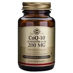 Solgar CoQ-10 200mg 30 cápsulas vegetais