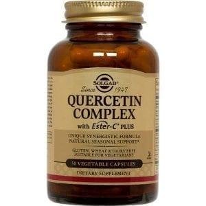 Solgar Quercitin Complex 50 cápsulas vegetais