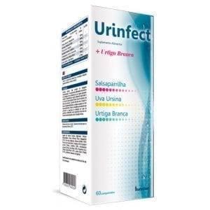 Urinfect + Urtiga Branca Fharmonat 60 comprimidos