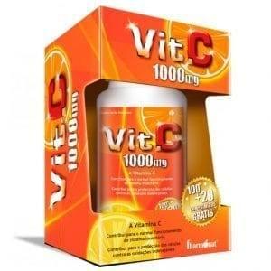 Fharmonat Vit. C 1000mg 100+20 comprimidos grátis
