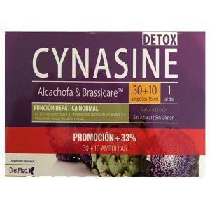 Cynasine Detox 30 +10 ampolas grátis