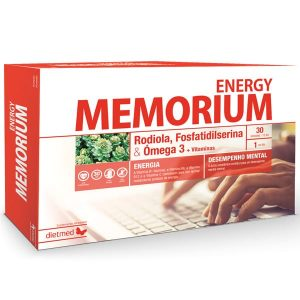 Dietmed Memorium Energy 30 ampolas 15ml