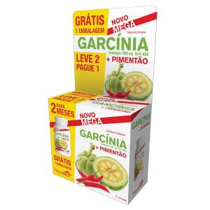 Phytogold® Pack Garcínia 1200mg + Pimentão – Leve 2 Pague 1 30 comprimidos