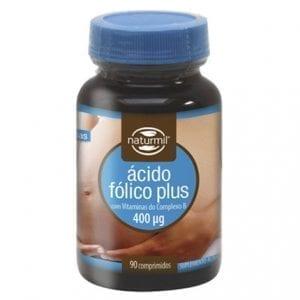 Naturmil Ácido Fólico Plus 400µg 90 comprimidos