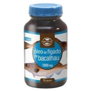 Óleo de Fígado de Bacalhau 1000mg 90 cápsulas