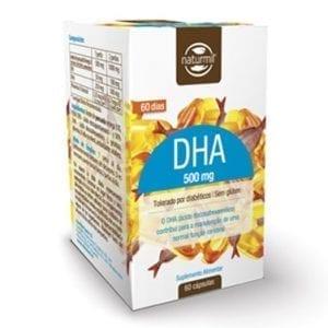 Naturmil DHA 500mg 60 cápsulas