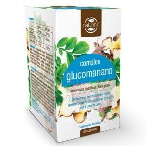 Naturmil Glucomanano Complex 500mg 60 cápsulas