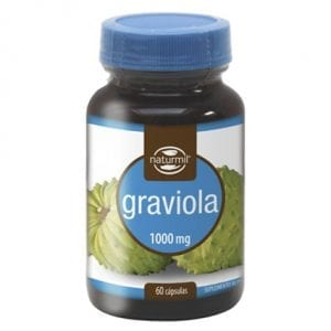 Naturmil Graviola 1000mg 60 cápsulas