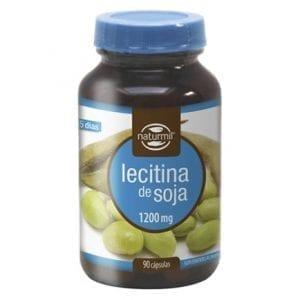Naturmil Lecitina de Soja 1200mg 90 cápsulas