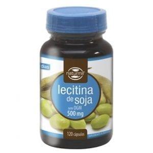 Naturmil Lecitina de Soja 500mg 120 cápsulas