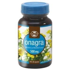 Naturmil Onagra 500mg 340 + 80 cápsulas grátis