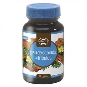 Pau de Cabinda + Tribulus 60 cápsulas