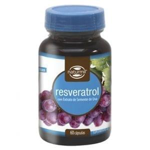 Naturmil Resveratrol 60 cápsulas