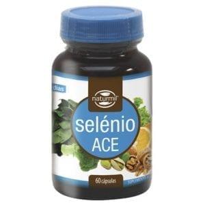 Naturmil Selénio ACE 60 cápsulas
