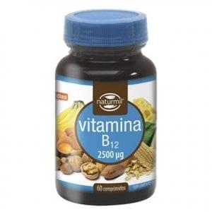 Naturmil Vitamina B12 2500µg 60 comprimidos