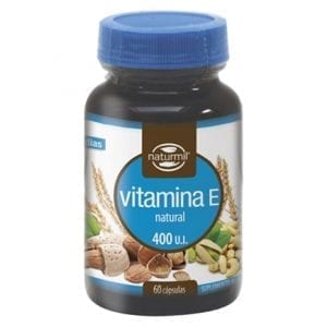 Vitamina E Natural 400UI 60 cápsulas