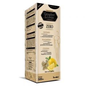 Gengibre & Limão Zero Fharmonat 500ml
