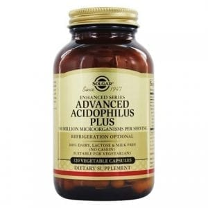 Solgar Advanced Acidophilus Plus 60-120 cápsulas vegetais