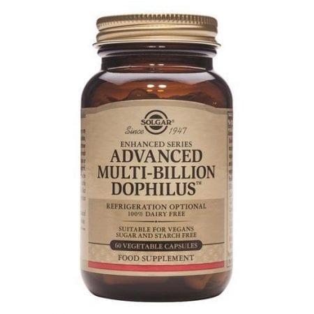 Solgar Advanced Multi-Billion Dophilus 60 cápsulas vegetais